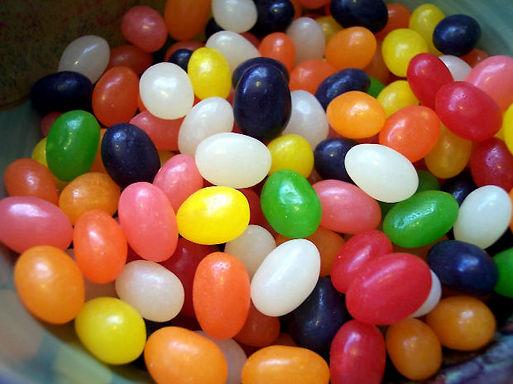 mariage jelly bean bonbons