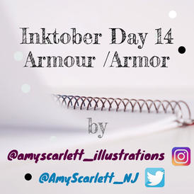 The Making of Inktober Day 14