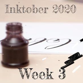 Inktober 2020 Week 3