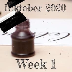 Inktober 2020 Week 1