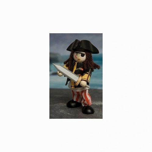 Le Toy Van Budkins Eye Patch Pirate