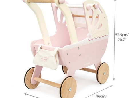 Ivy Approved? Product Review - Le Toy Van Sweet Dreams Pram