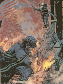 Marvel Comics 9/11 Heroes