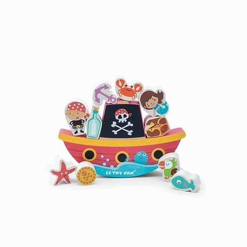 Le Toy Van Pirate Balance Rock 'N Stack