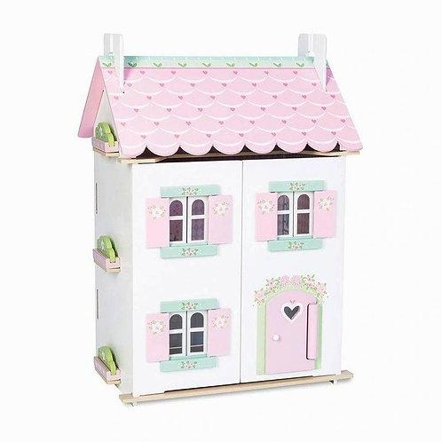 Le Toy Van Sweetheart Cottage W/Starter Furniture Set