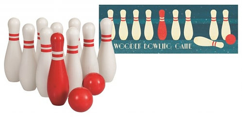 Egmont Toys Wooden Bowling Game