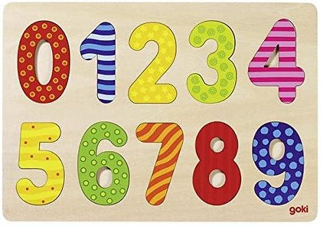 goki 57574 Number puzzle 0-9