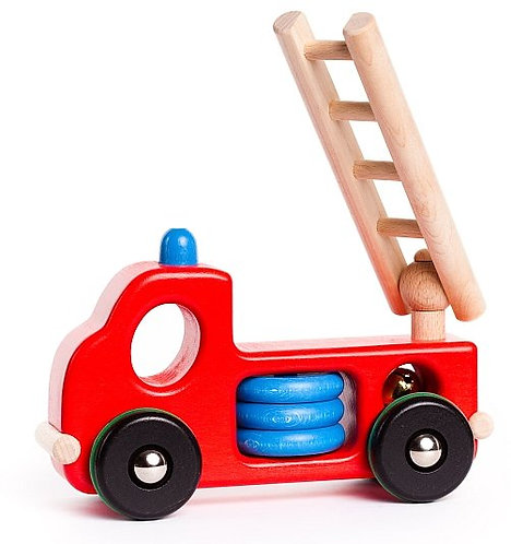 Bajo Fire Engine With Articulated Ladder And Bell