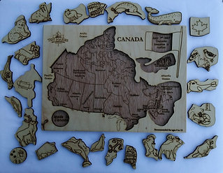 Toy Maker Of Lunenberg Canada Puzzle