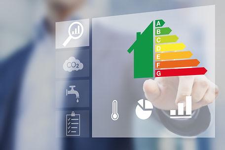 Energy efficiency rating of buildings fo