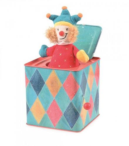 Egmont Toys Jack In The Box - Blue Joker