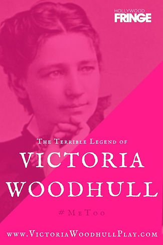 Victoria Woodhull Play Poster