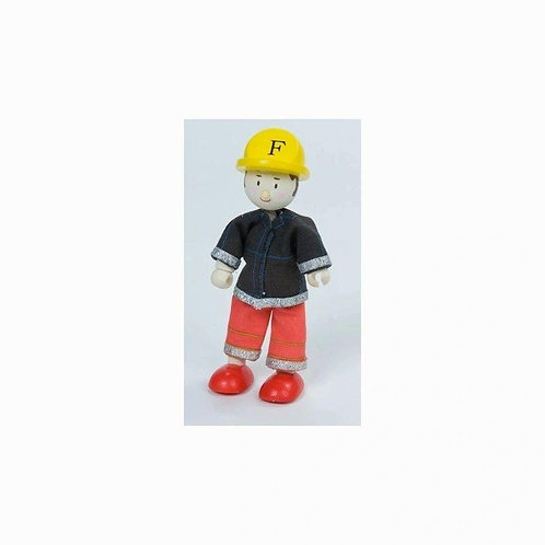 Le Toy Van Budkins Fire Chief (Red)