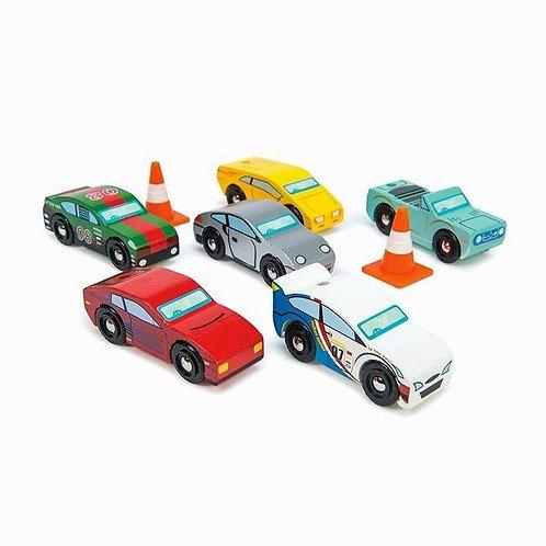 Le Toy Van Montecarlo Sports Cars - Set Of 6