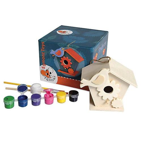 Egmont Toys Bird House To Paint