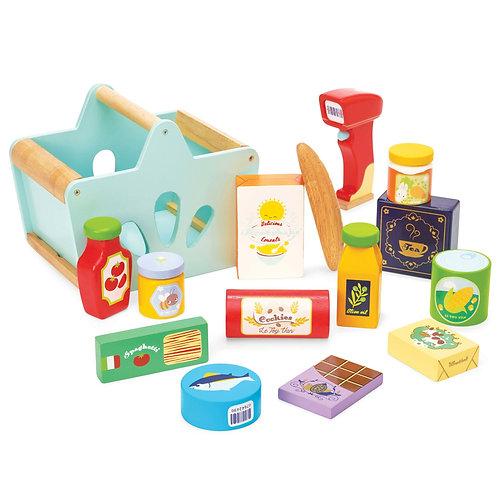Le Toy Van Groceries & Scanner