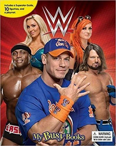 WWE My Busy Books