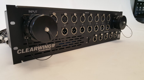 Clearwing Hybrid Amp Drive Front