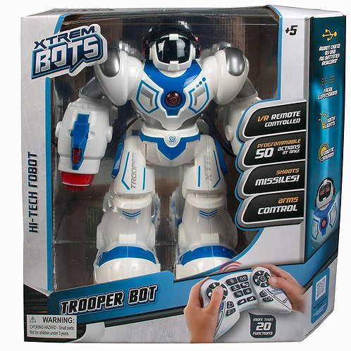 Play Visions Trooper Action Robot Toy