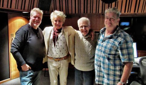 Steve Sykes with Rod Stewart