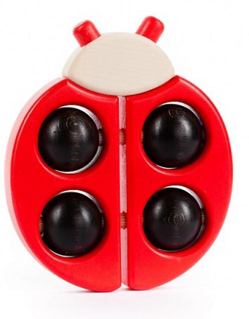 Bajo Ladybug Rattle Roller