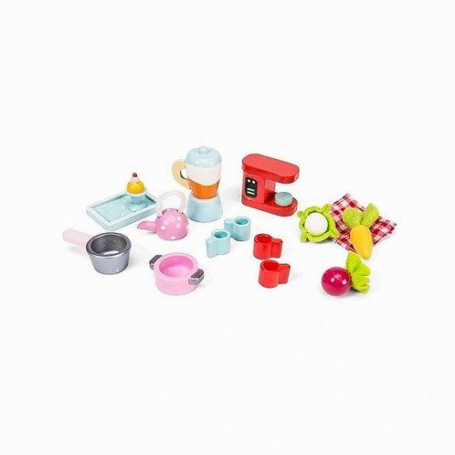 Le Toy Van Tea Time Kitchen Accessory Pack