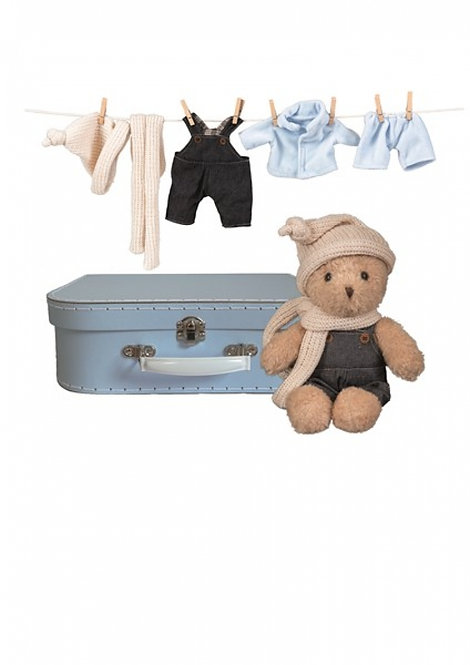 Egmont Toys Morris With Clothes and A Suitcase