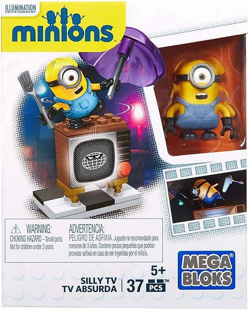Mega Construx Minions Silly TV