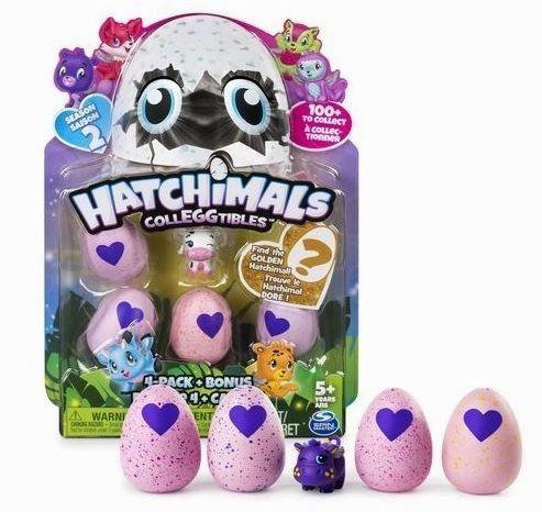 Hatchimals - CollEGGtibles Season 2 - 4-Pack + Bonus