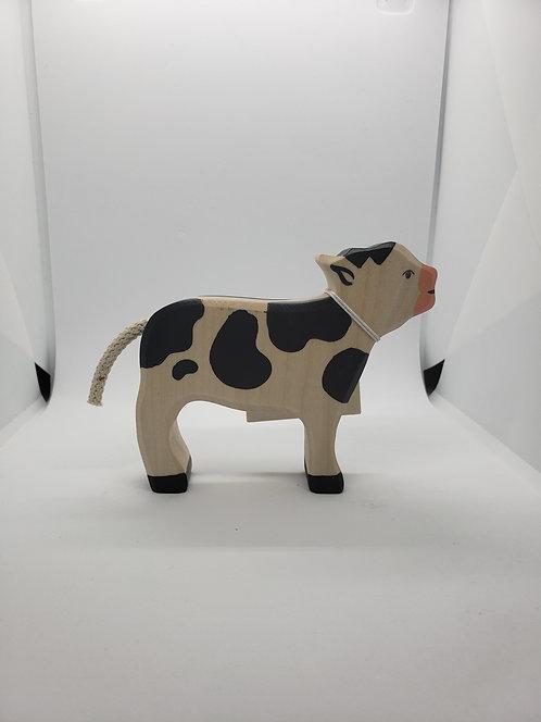 Holztiger 80005 - Calf, Standing, Black