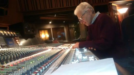 Recording at The Village Studio D