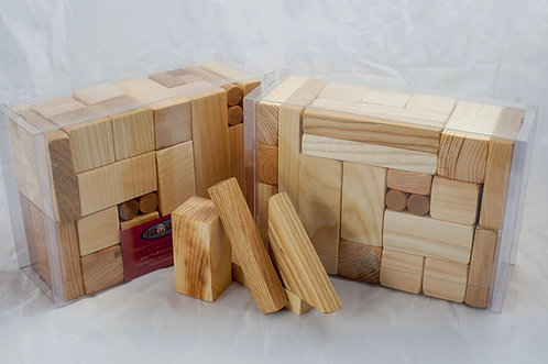 Toy Maker Of Lunenberg 40 Piece Natural Building Blocks