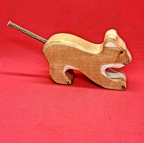 Holztiger 80142 - Lion, small, playing
