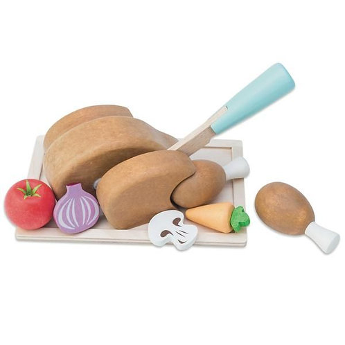 Le Toy Van Roast Chicken Set