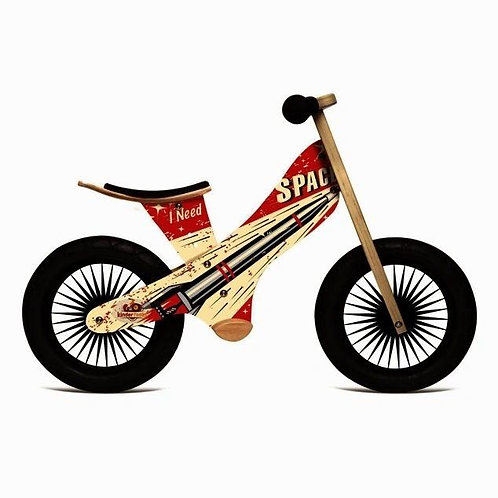Kinderfeet Retro Rocket Balance Bike