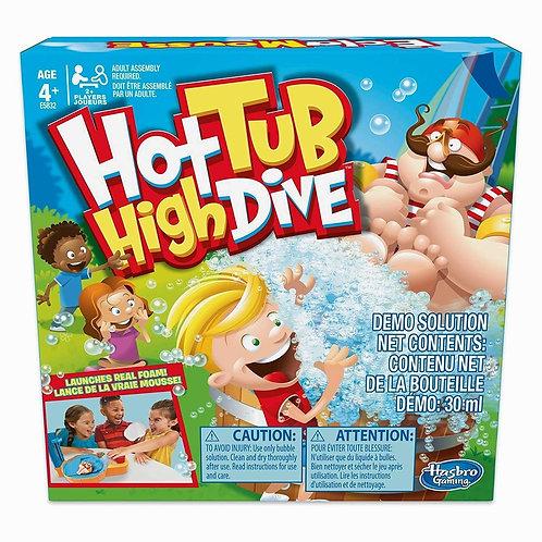 Hot Tub High Dive Board Game