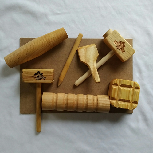 Toy Maker Of Lunenburg Wooden Tools For Dough and Clay