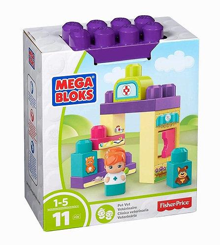 Mega Bloks Veterinarian Building Set