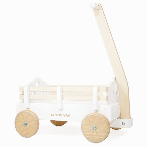 Le Toy Van Pull Along Wooden Wagon