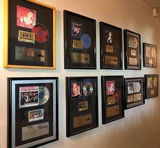 Steve Sykes Music gold platinum albums