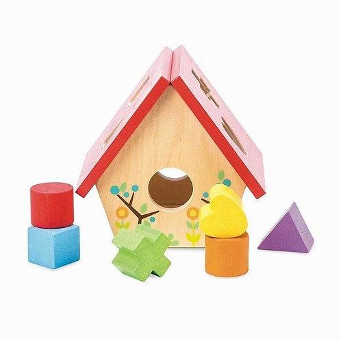 Le Toy Van My Little Bird House Shape Sorter