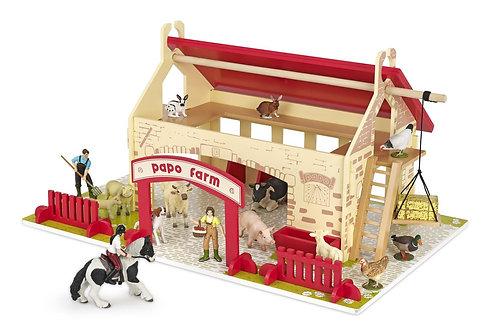 Papo The Small Farm Playset