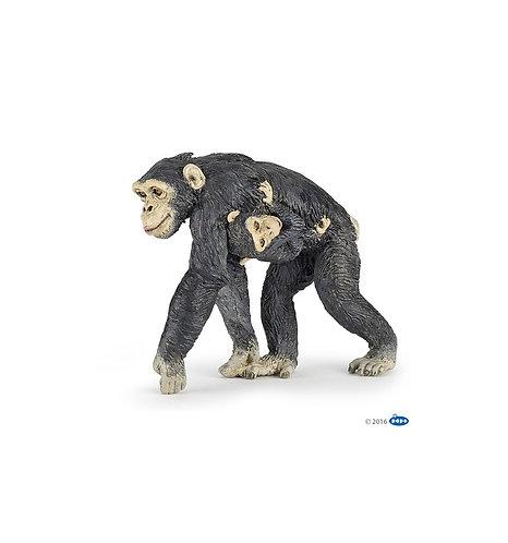 Papo 50194 - Chimpanzee and baby