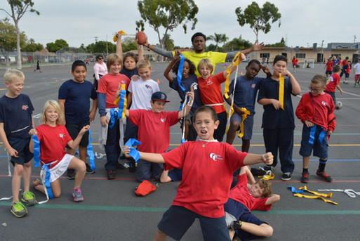 CF Fitness Kids at recess