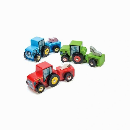 Le Toy Van Tractor Trails (3-Pack)