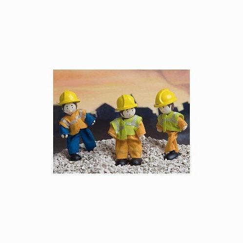 Le Toy Van Budkins Worker (Orange)