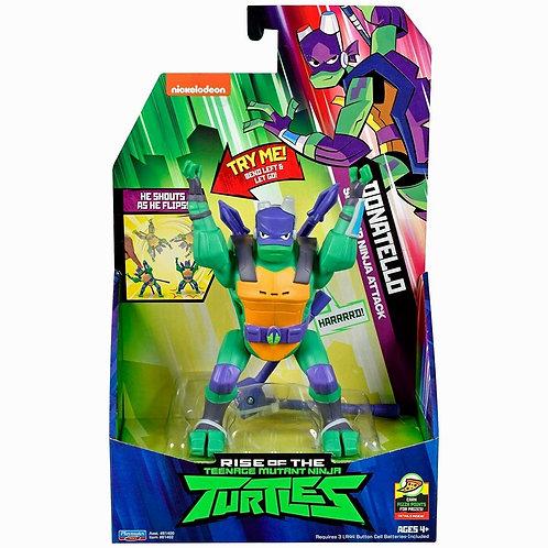 Rise of The Teenage Mutant Ninja Turtle Donatello Side Flip Deluxe Figure TMNT