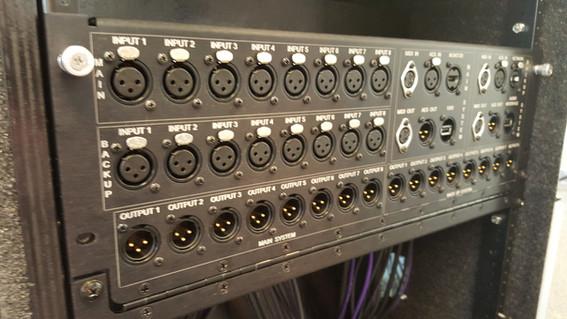 Custom Downward Hinged Panel