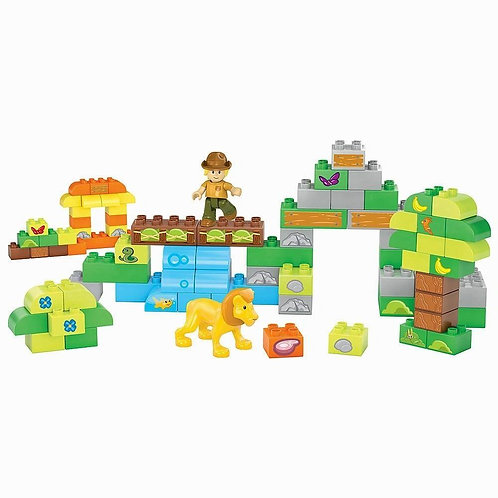 Mega Bloks Build A Safari