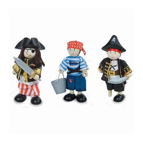 Le Toy Van Budkins Pirate Set